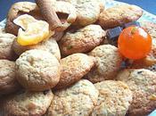 Cookies pomme-cannelle clémentine confite-chocolat.