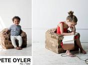 tatter cardboard kid's chair