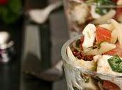 Petite salade pâtes verrine