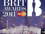 Brit awards 2011 prestations tapis rouge