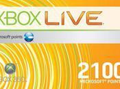 2100 points Microsoft pour moins frais livraison inclus