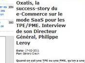 Ricochets Oxatis, success-story e-Commerce mode SaaS. Philippe Leroy inside