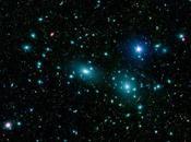 Galaxies l'amas Chevelure Bérenice photographiées télescope Spitzer
