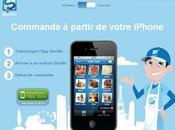 Storific service commande iPhone