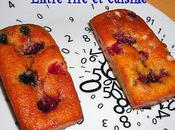 Petits cakes moelleux Banane-Framboise sucre perlé