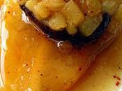 Boudin noir poires, sauce miel épices