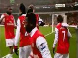 Vidéo Chamakh contre Leyton mars 2011 (Arsenal Leyton)