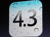 d'iOS pour l'iPhone l'iPod Touch