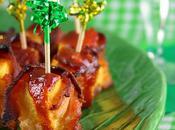 Bouchées d'ananas bacon, sauce sucrée-salée