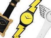 Trois montres Swatch Jeremy Scott
