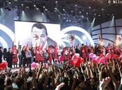 Enfoirés 2011 stars chanté pour concert