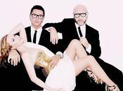 """Kylie Minogue entre mains Domenico Dolce Stefano Gabbana pour """"Les Folies"""""""