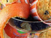 Cent-quarantième participation Muffins ensoleillés orange, ananas bleuets séchés