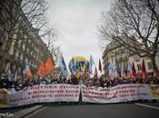 Manifestation l'éducation, Paris. mars 2011.