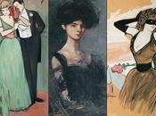 """comédie parisienne"""" Jean-Louis Forain (1852-1931)"""