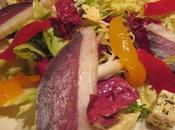 Salade magret séché