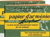 papier d'Arménie parfumer assainir intérieur