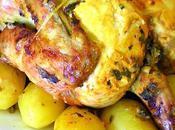 Poulet rôti sans matière grasse