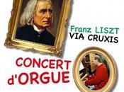L'organiste Olivier Leguay joue Liszt l'abbatiale Nantua (Ain) dimanche