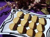 Biscuits crème caramélisé chocolat noir