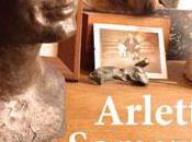 Bustes Masques d'Arlette Somazzi exposées Menton