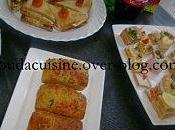 Mini cakes sardine