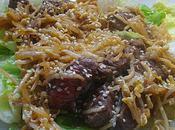 Salade boeuf soja