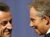 Tony Blair attending meeting French President???s right-wing party (Tony Conseil national l'UMP).