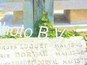 tombe Marie Dorval petit-fils Georges cimetière Montparnasse.
