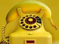 téléphone banane