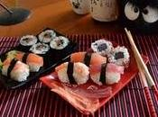 Sushi Maki California rolls