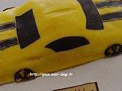 Gâteau Bumblebee Transformers