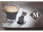 Capsules Monoprix compatibles Nespresso