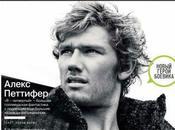Alex Pettyfer couv l'édition russe
