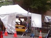 Taylor Lautner plein tournage dans rues York