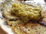 Beignets buglosse courgettes guacamolées