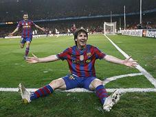 Europe Barça champion, football question