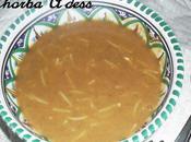 Chorba A'dess (soupe lentilles algèrienne