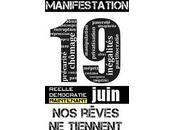 Indignés Manifestation juin