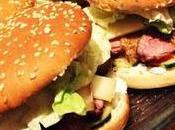 Hamburger Deluxe canard, comté, sauce moutarde-miel!