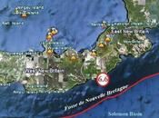 Violent séisme sous marin, magnitude 6.6, près côtes l'Île Nouvelle Bretagne.