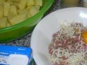 Purée pommes terre accompagnée croquettes sauce moutarde champignons