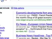 recherche temps réelle Google pour bientôt