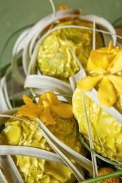 "Cahier styles interflora ""harmonies hybrides"" couleur jaune"