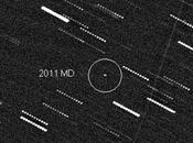 L'astéroïde 2011 plus près Terre