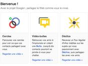 Premières impressions Google+