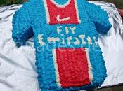 Gâteau maillot foot