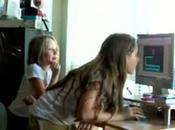 maze avec petites filles