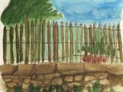 Croquis (paysages l'aquarelle crayonnés)