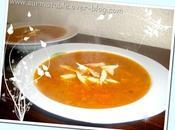 Soupe Vermicelles Poulet Légumes